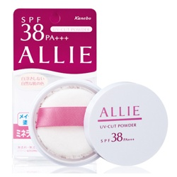 蜜粉產品-礦物UV防曬蜜粉 SPF38 PA+++ ALLIE MINERAL UV CUT POWDER