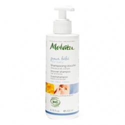 Melvita 蜜葳特 寶寶身體保養-歐盟Bio寶貝洗香香 Shower shampoo for hair and body