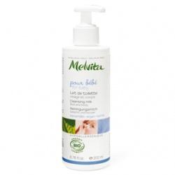 Melvita 蜜葳特 寶寶身體保養-歐盟Bio寶貝潔膚乳 Cleansing Milk