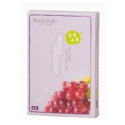 Beauty Buffet 天天美麗 臉部保養-葡萄多酚柔膚保濕面膜 Red Grapes Moisturizing Mask