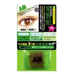 日本AB隱形塑眼貼線 AB Mezical Fiber(30pieces+1stick)