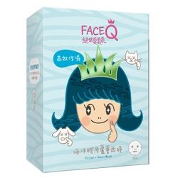 Face Queen 絕世愛美肌 面膜-海洋膠原蘆薈面膜