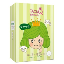 Face Queen 絕世愛美肌 面膜-絲瓜薏仁酵素面膜