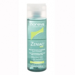 noreva 法國歐德瑪 Actipur+Zeniac控油系列-控油潔膚凝膠 Zeniac High Tolerance Purifying and Cleansing Gel