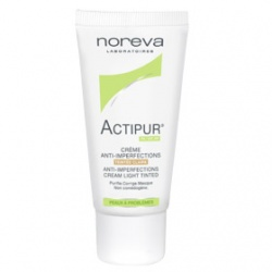 noreva 法國歐德瑪 Actipur+Zeniac控油系列-油脂平衡遮瑕乳 Actipur Anti-Imperfections Cream Light Tinted