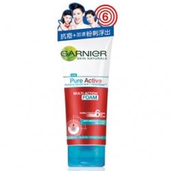 GARNIeR 卡尼爾 藥用制痘系列-藥用制痘抗痘洗面乳 Garnier Pure Active Multi-Action Foam