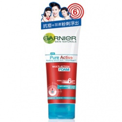 藥用制痘抗痘洗面乳 Garnier Pure Active Multi-Action Foam