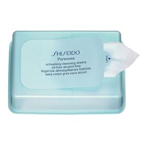 SHISEIDO 資生堂-專櫃 飄爾麗思系列-飄爾麗思保濕卸除布膜 Purness Refreshing Cleansing Sheets