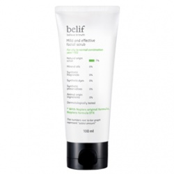 belif 臉部去角質-棉花纖維素去角質凝膠 Mild  and effective facial scrub