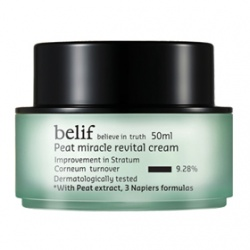 belif 乳霜-冰河能量彈力再生乳霜 Peat miracle revital cream