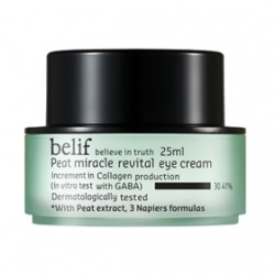 belif 眼部保養-冰河能量抗皺活力眼霜 Peat miracle revital eye cream