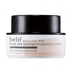 belif 臉部保養-面膜系列-白松露淨白水亮晚安面膜 First Aid  Overnight brightening mask