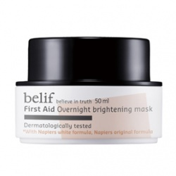 白松露淨白水亮晚安面膜 First Aid  Overnight brightening mask