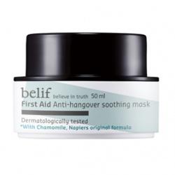 belif 臉部保養-面膜系列-洋甘菊舒緩減壓面膜 First Aid hangover soothing mask