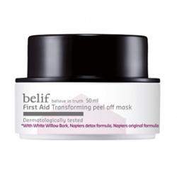 belif 臉部保養-面膜系列-白楊柳粉刺淨透煥膚面膜 First Aid mask Transforming  peel off mask
