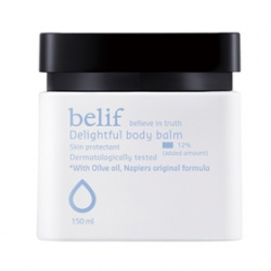 belif 身體保養-橄欖脂深層潤膚乳霜 Delightful body balm