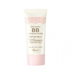 高機能美白礦物BB霜 etthusais BB mineral white SPF45‧PA++