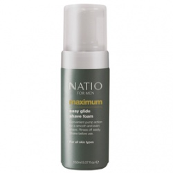 Natio 男仕刮鬍‧護理-極限男性刮鬍泡 Natio for Men Maximum Easy Glide Shave Foam