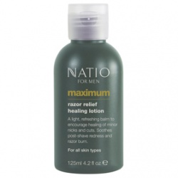 Natio 男仕刮鬍‧護理-極限男性鬍後舒緩乳 Natio for Men Maximum Razor Relief Healing Lotion
