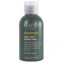 極限男性鬍後舒緩乳 Natio for Men Maximum Razor Relief Healing Lotion