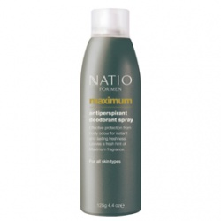 Natio 極限男性系列-極限男性爽身噴霧 Natio for Men Maximum Antiperspirant Deodorant Spray