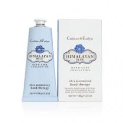 Crabtree & Evelyn 瑰珀翠 手部保養-藍色喜馬拉雅護手霜 Himalayan Blue Hand Therapy