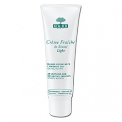 "植物奶敏弱保濕乳  CREME FRAICHER DE BEAUTE FORMULE ""LIGHT""/ 24HR SOOTHING AND MOISTURIZING EMULSION"