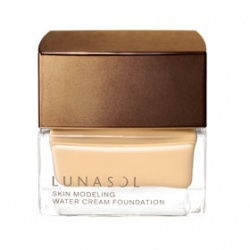 輕透水凝粉霜 LUNASOL Skin Modeling Water Cream Foundation