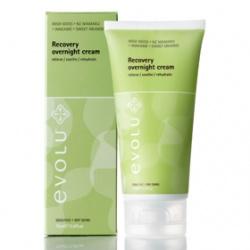 evolu 艾芙洛 乳霜-植淬深層修護晚霜 Recovery Overnight Cream