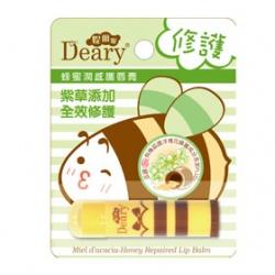 Deary 媞爾妮 唇部保養-蜂蜜潤感護唇膏(修護) Miel d'acacia-Honey Repaired Lip Balm