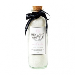 Heyland & Whittle 英倫薇朵 按摩精油&浴鹽-橙花玫瑰死海浴鹽