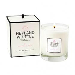 Heyland & Whittle 英倫薇朵 室內‧衣物香氛-橙花玫瑰香氛燭
