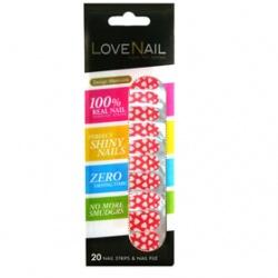 LOVE NAIL 其它美甲產品-單色圖案指甲油貼