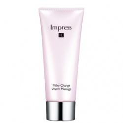 Kanebo 佳麗寶-專櫃 Impress IC 活膚系列-溫熱晶摩凝膠   Impress IC Milky Change Warm Massage
