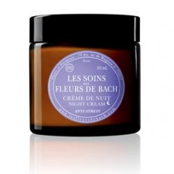 LES FLEURS DE BACH 巴赫花精 花朵菁萃有機舒緩保養系列-花朵菁萃有機舒緩晚霜  Anti-Stress Night Cream