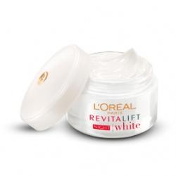 L`OREAL PARiS 巴黎萊雅 活力緊緻系列-活力15奇蹟晚霜 L'Oreal Paris Revitalift White Night Cream