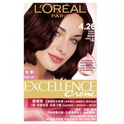 L`OREAL PARiS 巴黎萊雅 染髮‧燙髮-優媚霜三重護髮染髮霜