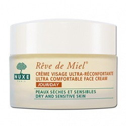 NUXE 黎可詩 蜂蜜舒緩保養系列-蜂蜜舒緩保濕日霜 REVE DE MIEL ULTRA-COMFORTABLE FACE CREAM (DAY)
