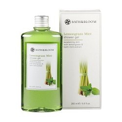 bath&bloom 檸檬草薄荷舒壓系列-檸檬草薄荷甦醒沐浴香精 Lemongrass Mint shower gel