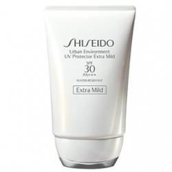 SHISEIDO 資生堂-專櫃 身體防曬-新艷陽‧夏360°溫和防晒乳SPF30/PA+++ Urban Environment UV Protector Extra Mild