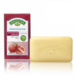 Nature`s Gate 天然之扉 洗顏-經典紅石榴多酚植萃亮白皂 pomegranate sunflower triple milled soap