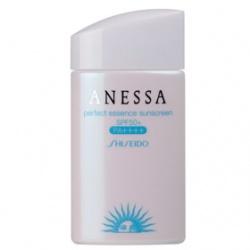 SHISEIDO資生堂-專櫃 身體防曬-安耐曬粉藍防曬水精華A+ SPF50+/PA++++