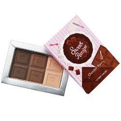 甜心咬一口布朗巧克力眼彩磚