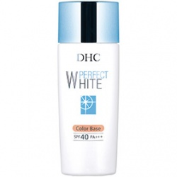 DHC  防曬‧隔離-完美淨白防曬隔離乳SPF40 PA+++ Perfect White Color Base SPF40 PA+++