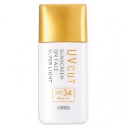 Sunscreen On Face Super Light 透妍防曬隔離霜-極清爽型 SPF34 PA+++