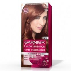 GARNIeR 卡尼爾 染髮‧燙髮-花漾綻色染髮霜