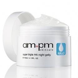 am+pm skincare  保養系列-三重玻尿酸晚安凍膜 Super Triple HA Night Gelly