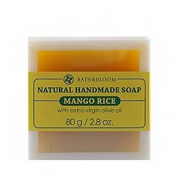 芒果糯米天然手工香皂 Mango rice soap