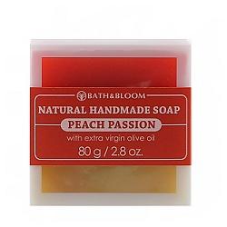 百香蜜桃天然手工香皂 Peach passion soap