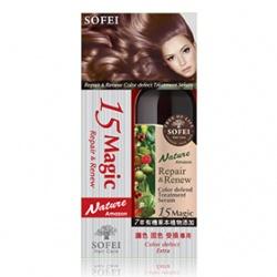 SOFEI 舒妃 護髮-15奇跡毛髮修護噴霜(固色護色受損)